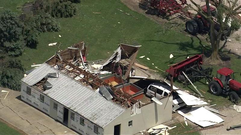 Chicago Weather: 6 tornadoes confirmed in Illinois; EF-2s in Pontiac, Seneca