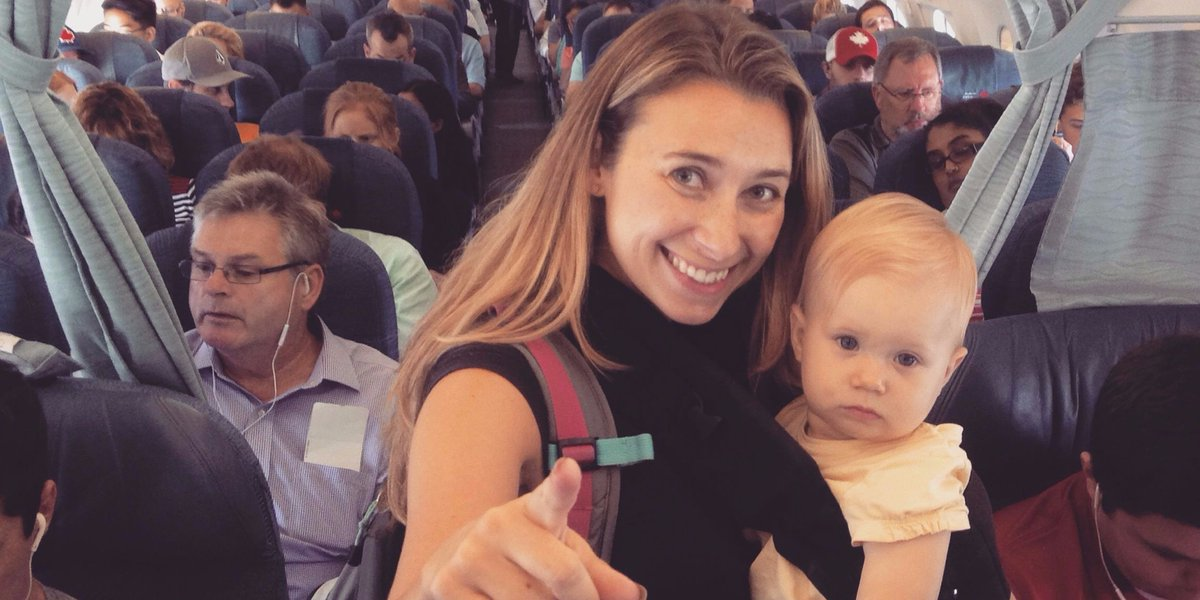 Today's ReasonToTravel? To celebrate a first! Read about @juliadimon's baby's first flight: