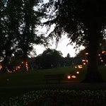 As darkness starts to set in the night gets even more spectacular #firegarden @YorkshireFest https://t.co/OM88SWq94P