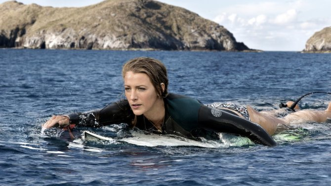 Blake Lively faces off against a killer shark in TheShallows. Review: