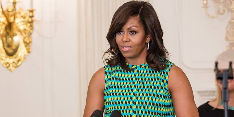 GoodTrouble: Michelle Obama, in rare step, weighs in on house sit-in over gun control