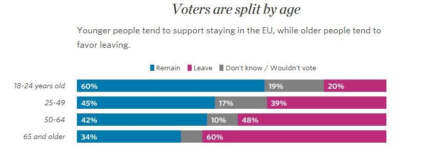if you 65+ you have no business voting in referendum for the future YOU NOT GONNA BE AROUND FOR THE DISASTER https://t.co/stybNvFPF4