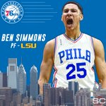 With the 1st pick in the 2016 NBA Draft, the Philadelphia 76ers select Ben Simmons. https://t.co/dq3dCEcGLC