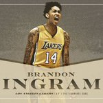 We got our guy, LA!! The Lakers select Brandon Ingram with the second pick in the 2016 NBA Draft. https://t.co/esfWyCv3P6