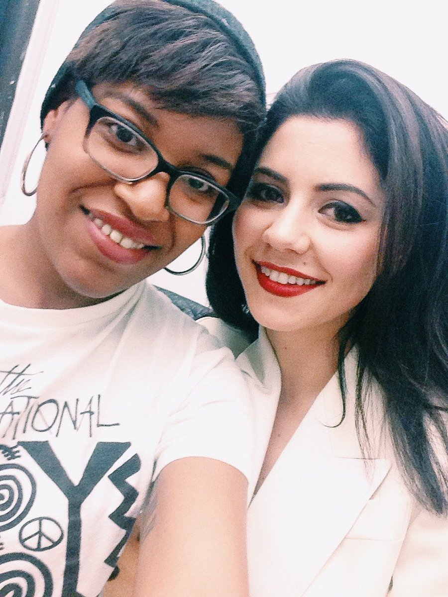 I first met @MarinasDiamonds last year & we reunited tonight! She's still as lovely as ever