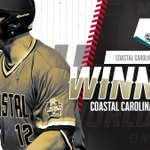 THE REAL TEAL!!!  Coastal Carolina stays alive in Omaha with a 7-5 victory over Texas Tech! #CWS https://t.co/IZ4zlQrPcG