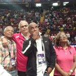 ¡HOMENAJEADO! @pandeportes le rinde un pequeño homenaje al excanastero y presidente de la Fepaba, @jairperalta05 https://t.co/UtYKmcmGCJ