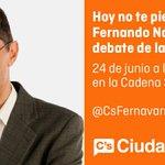 .@CsFernavarro participará en el debate de @SERmallorca a partir de las 12 h. ¡Coméntalo con nosotros! 📲 https://t.co/sjoFopLesh