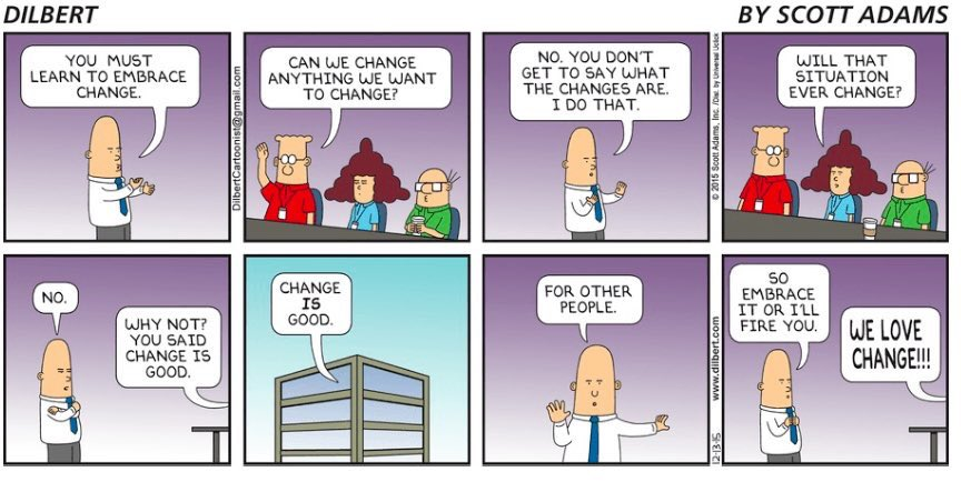 I wonder what Dilbert would say about #EUref embrace change? https://t.co/7YxqUsSn9c