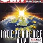 """영국의 더 선지가 브렉시트 선거날을 영국의 독립기념일이라고 이야기 했었죠. 완전 동의합니다. 미국의 독립기념일과 영국의 독립기념일에는 공통점이 있는데요. 바로 """"영국이 ㅈ됐다""""라는 점이죠 https://t.co/g1fApOysCd"""
