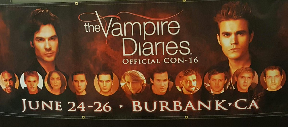 So this is happening this weekend.  #TVDBURBANK https://t.co/nrOOH7TH5V