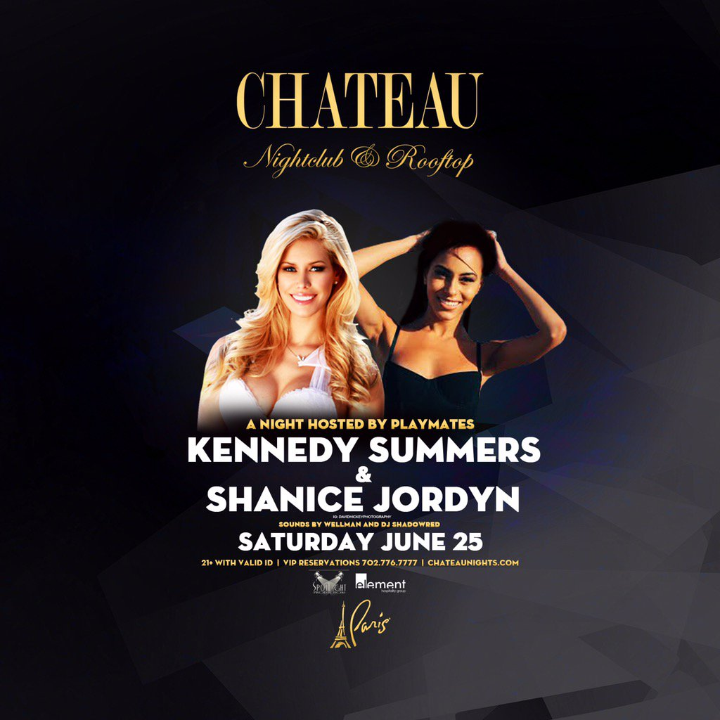 With this Saturday! •( #ChateauNights) and PROMOTERS ( & )