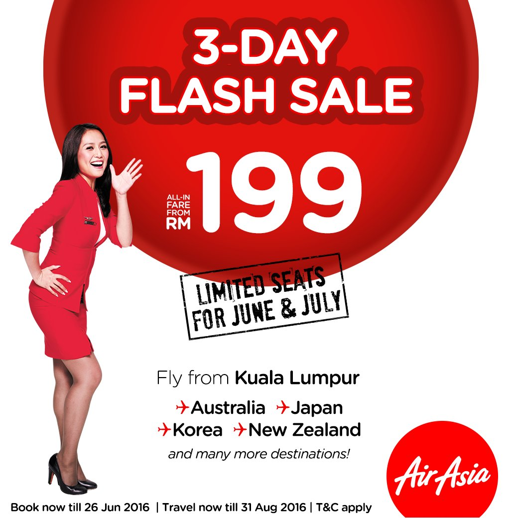 Blink & you'll miss it! 3-day flash sale! Book now @