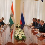Met President Putin. We talked about several issues pertaining to India-Russia ties & other global issues. https://t.co/G8ka9Kvi31