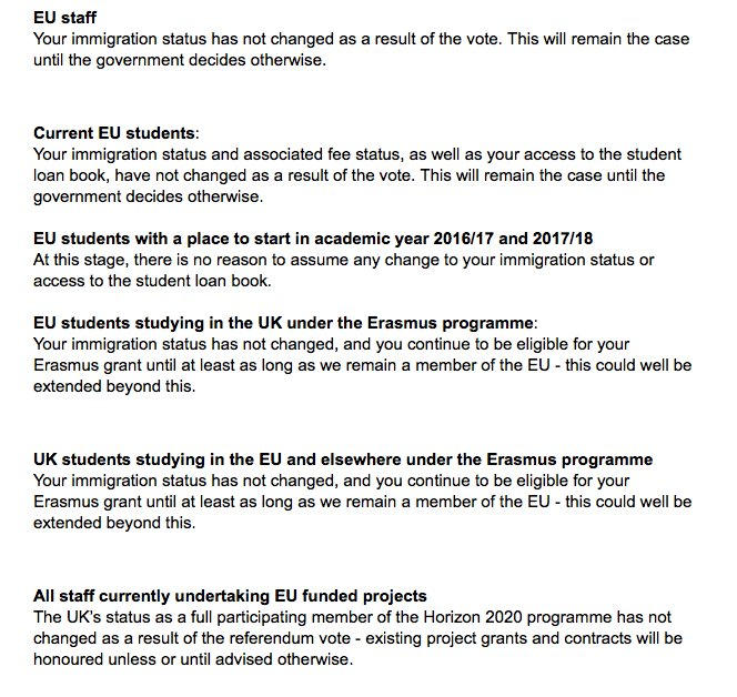 Also, here is some helpful advice issued by UCL this morning. https://t.co/7qJBJC8xWU