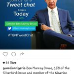 REMINDER???? The Guardian to chat with Sen Ben Bruce 5pm today DONT MISS IT! I love???? Sen Bruces posture on the poster https://t.co/T9zUPCJHj9