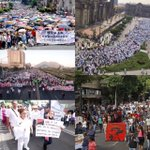 Mientras @EPN acumula millas volando en su super avión, millares de mexicanos marchan. https://t.co/DaY3cBTm0W https://t.co/Pa7VJ1Qvgl
