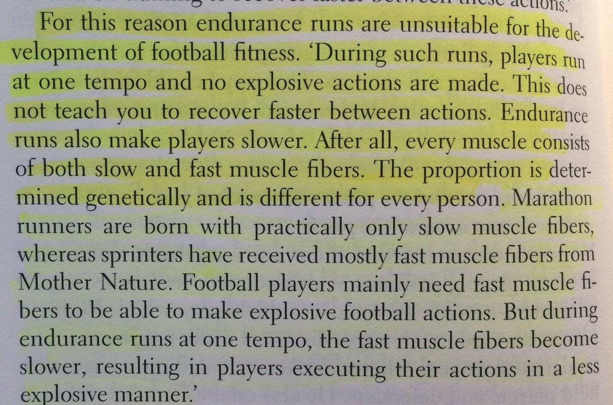 Pre season endurance running