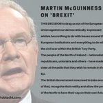 Martin McGuinness on #Brexit – People of the North should have their say on their own future https://t.co/ehAUR7SJbE https://t.co/HDYXbXGu0D