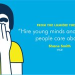 """@shanesmith30 @VICE """"hire yng minds & make shit ppl care about"""" #canneslions https://t.co/c0WjOxMqEn"""