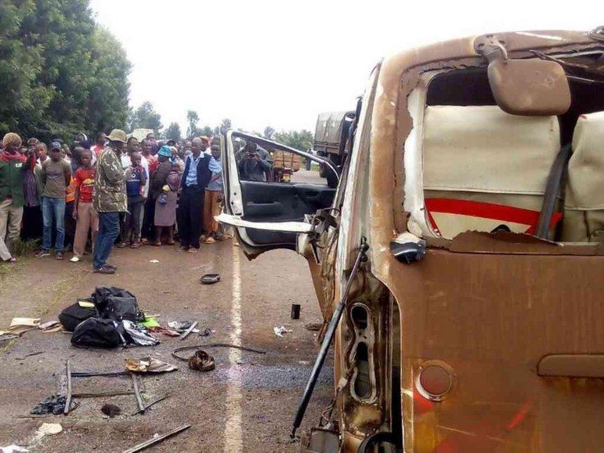 Four students killed in Kirinyaga accident