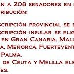 papeleta salmón...MT @Senadoesp Hoy español@s elegirán a 208 senador@s en #ListasAbiertas con esta distribución https://t.co/HCgCpnSlz9 #26J