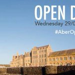 Register online for our next Open Day on Wednesday: https://t.co/JKD6bb8E1i #AberOpenDay https://t.co/L0qy3fEUkS