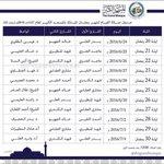 جدول صلاة القيام بالمسجد الكبير ابتداء من اليوم الجمعة #رمضان #الكويت https://t.co/BhqCc5fnln