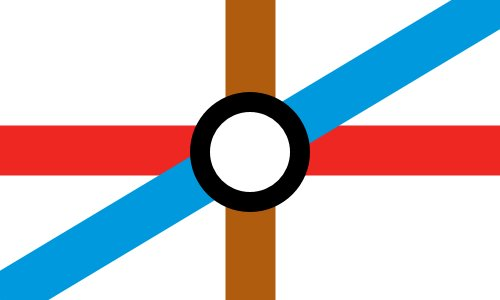 My attempt at a flag for an independent London. https://t.co/cl0gzjIqKE