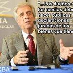"""Otra vez Vázquez ataca a los medios. ¿Creerá que así serán """"dóciles""""? No es la actitud de un Presidente. Lamentable https://t.co/u2EkfCtwPG"""