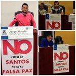 Concejales de Manizales no creen en la falsa paz de @JuanManSantos. #ResistenciaCivil https://t.co/lygpPd52fN