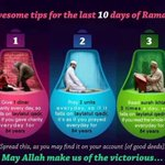 3 awesome tips for the last 10 days of #Ramadan https://t.co/MEUip1B6UC