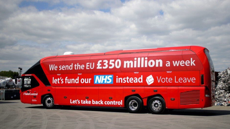 https://t.co/CnOqfRYd4O  How can you say it was a mistake #Farage you wrote it on a flipping bus.. You stole those votes on a lie #twatter
