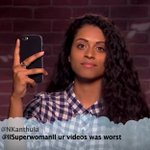 YouTubers read mean tweets. https://t.co/Ao2wctak5g ???????????? #VidCon https://t.co/XzG5Ew07MU