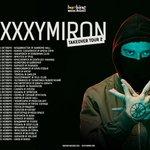 OXXXYMIRON / TAKEOVER TOUR 2 / октябрь-ноябрь 2016 / 30+ городов. Вся инфа и билеты: https://t.co/O7oezg0DxK RT RT https://t.co/Ro2ommDNwx