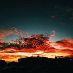 Céu de RO 💙 https://t.co/CeivrAxJJX