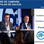 🔊Mitin de cierre de campaña con Núñez Feijóo @MLorenzo2016 y @DiegoCalvoPouso   🗓Viernes 19:45h en Palexco  #Afavor https://t.co/ayuPbldOvc