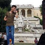 Live da Piazza del Popolo... @LeleUfficiale Non mancate questa sera al #CocaColaSummerFestival https://t.co/RibM0JV8L0