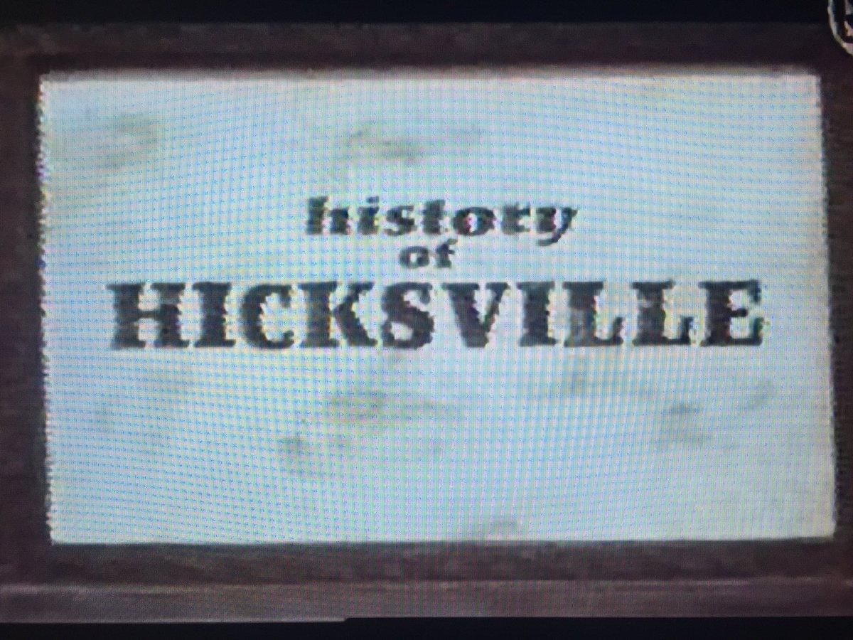 録画してたビデオを整理してたら出てきた、スペシャでOAされた「history of HICKSVILLE」(って番組かな?)にヒロトもコメントを寄せてました。 https://t.co/b3jkyM87CW