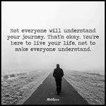 Not everyone will understand your journey. @DavidKWilliams @stevedragoo @spencerrayner https://t.co/XGFhRktd2V
