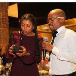 When @tarajiphenson was presented with an @ERAByDJZinhle watch! #Africa #eramoments 🙏🏾   Hey @somizi!! 😘 https://t.co/VusStz1HoG