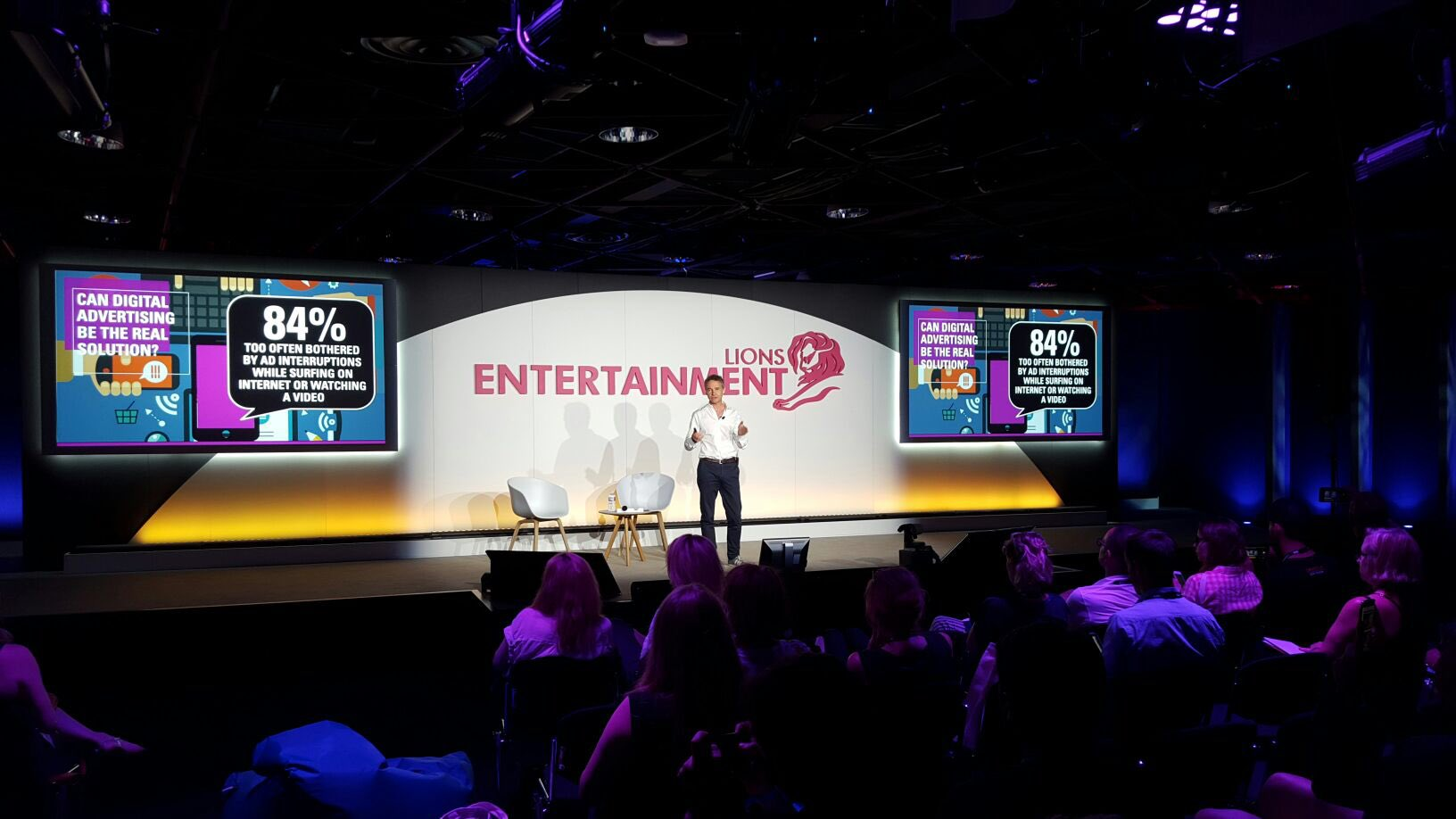 ".@Lucienboyer now on stage for his keynote ""Branded entertainment- the New age of marketing?"" #CannesLions https://t.co/Fshf4tqVgp"