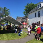 Bobbys Hospice BBQ - RIGHT NOW at 385 Dufferin Row #DropBy #GoodFood #GreatCause https://t.co/AdJo1egpth