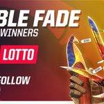 NEW GIVEAWAY!  5x Marble Fade Knives = 5x Winners  RT + Follow, more entries https://t.co/efyLxjn4OV  GLHF! https://t.co/mAtu1wMS0l