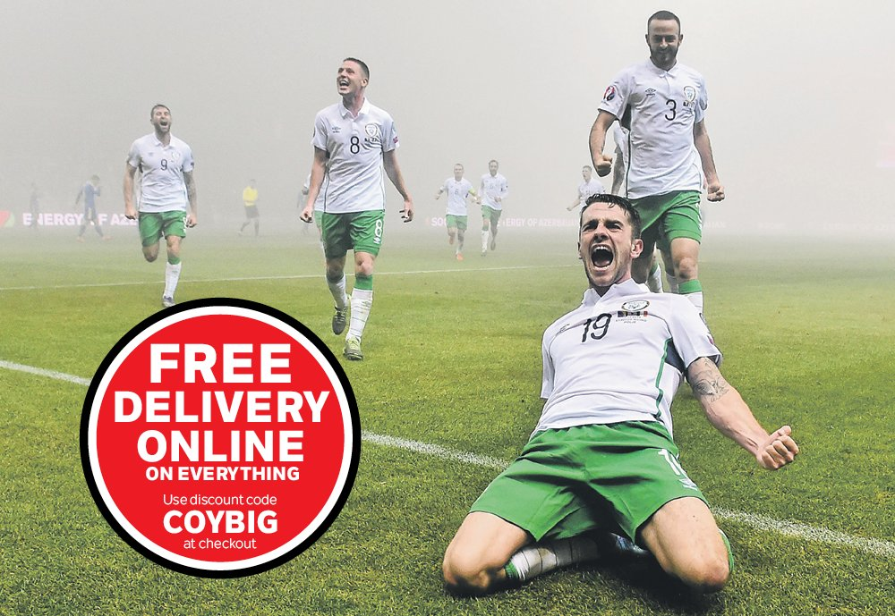 Free delivery this weekend on ANY product for our ONLINE customers! #COYBIG #IREvFRA https://t.co/5wsNlrxJkV