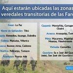 El @mindefensa reveló la ubicación de las 23 Zonas Veredales donde se concentrarán las Farc. https://t.co/lFFiNHbptH https://t.co/ZBs9Jj2wb2