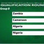 Group B: Zambia, Cameroon, Algeria, Nigeria. Group of Death, anyone #AFWCQ https://t.co/yJzn2fMckA