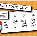 2,000 x A5 #LEAFLETS £59 with free P&P, colour both sides #northwesthour #ilovemcr #barnsleyisbrill #manchester https://t.co/rIg2Do2adG