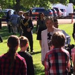 Princess Sophie in #yeg today to officially open Light Horse Park. https://t.co/1XQTywAdDc