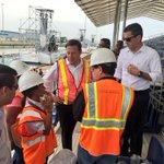 Pdte. @JC_Varela inspecciona últimos detalles para la inauguración del #CanalAmpliado en Cocolí. https://t.co/3Ab952PoGs